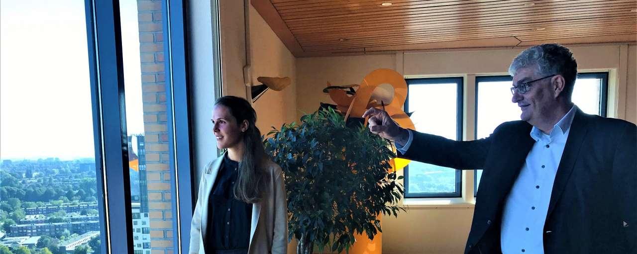 Duo interview met CEO van Gasunie en onze trainee Kristina Lauxen in Duurzaam Bedrijfsleven
